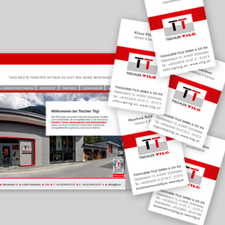 Corporate Design: Tischler Tilg